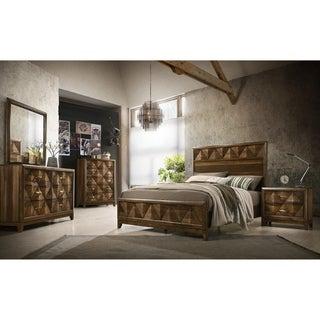 ACME Delilah Eastern King Bed in Walnut