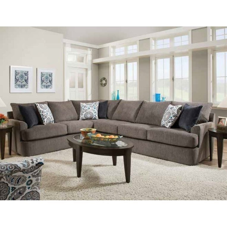 Acme Firminus Sectional Sofa In 2