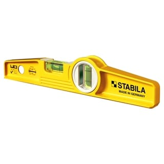 Stabila 25010 Non-Magnetic 10-Inch Type 81S Die Cast Torpedo Level