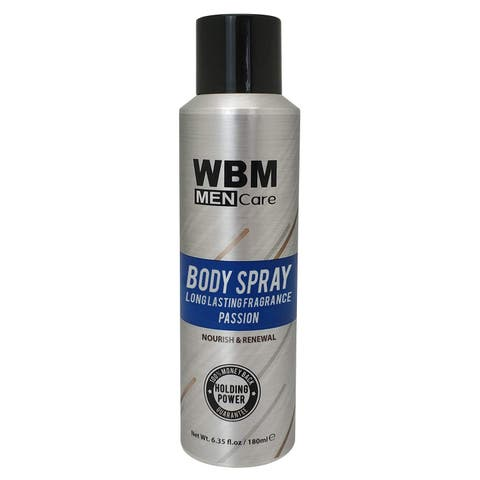 WBM Men Care Nourish & Renewal Deodorant Body Spray - 6.35 oz