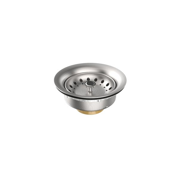 Stainless Steel Drain with satin finish
