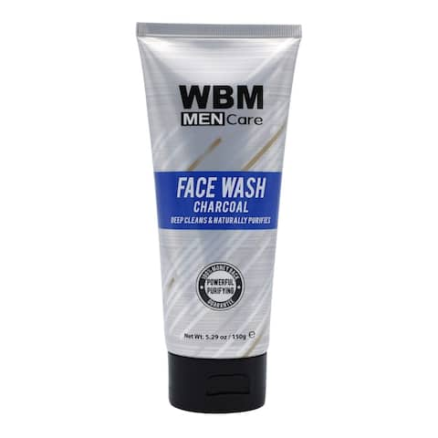WBM Men Care Deep Cleansing Daily Face Wash - 5.29 Oz