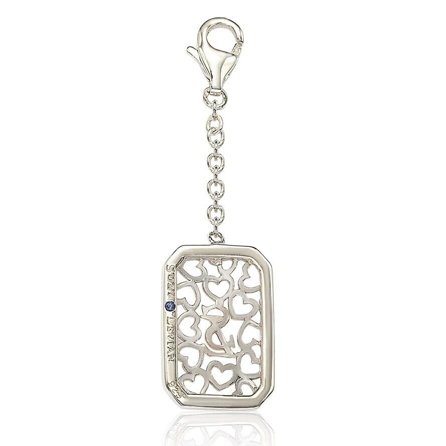 DiamondJewelryNY Miraculous Medal Silver /& Cubic Zirconia Miraculous Medal Pendant