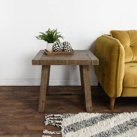 Carbon Loft Pallero Reclaimed Pine End Table