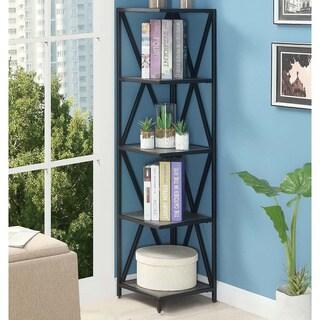 Carbon Loft Ehrlich Metal 5-tier Corner Bookcase