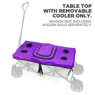 Link to Creative Outdoor Table Top Cooler Cover for Folding Wagon, Purple Similar Items in Bicycles, Ride-On Toys & Scooters