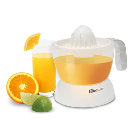 Elite ETS-411 2-Cup Citrus Juicer - N/A