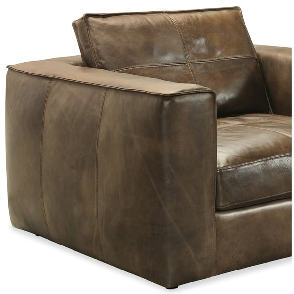 Outstanding Shop Orren Distressed Brown Leather Sofa Two Chairs And Cjindustries Chair Design For Home Cjindustriesco