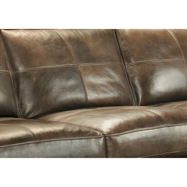 Stupendous Shop Orren Distressed Brown Leather Sofa Two Chairs And Short Links Chair Design For Home Short Linksinfo