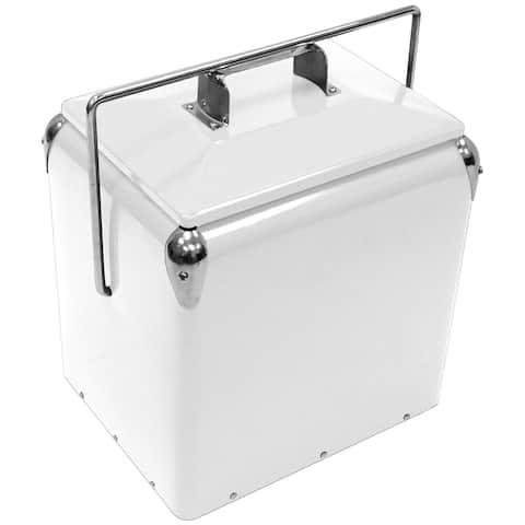 Creative Outdoor Retro 13L Cooler, White