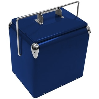 Creative Outdoor Retro 13L Cooler, Royal Blue