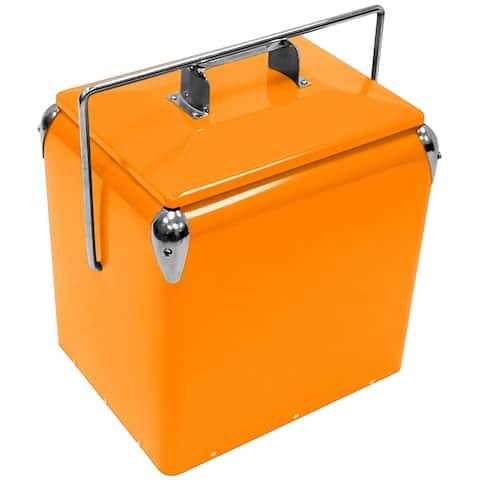 Creative Outdoor Retro 13L Cooler, Orange