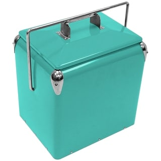 Creative Outdoor Retro 13L Cooler, Teal