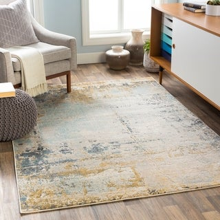 Stan Industrial Abstract Area Rug