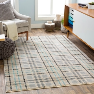 Porch & Den McNay Plaid Area Rug