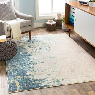 Lissandra Abstract Watercolor Area Rug