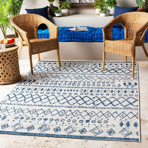The Curated Nomad Brunswick Indoor/ Outdoor Moroccan Tribal Area Rug