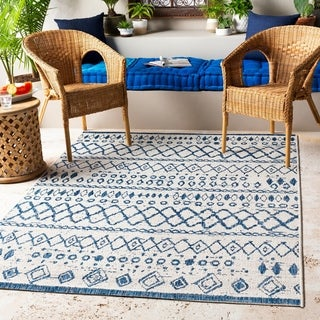 Link to The Curated Nomad Brunswick Indoor/ Outdoor Moroccan Tribal Area Rug Similar Items in Casual Rugs