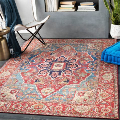 The Curated Nomad Sheraton Vintage Persian Area Rug