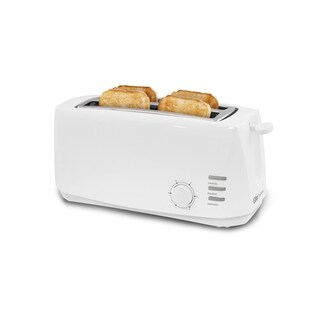 Elite Cuisine 4 Slice Long Slot Cool Touch Toaster ECT-4829