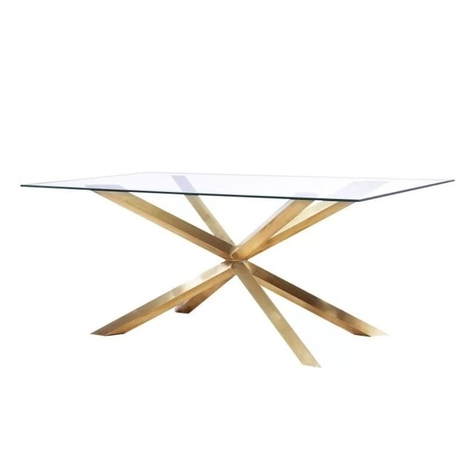Star Gold Base Dining Table N A