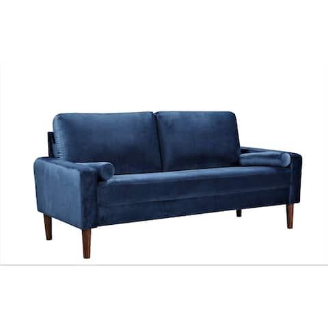 Lowery Velvet Kitts Classic Chesterfield Sofa