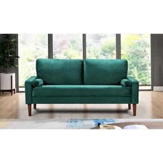 Carson Carrington Iunecopia Green 2-piece Living Room Set