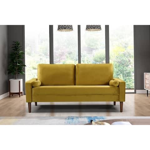 Carson Carrington Iunecopia Yellow Living Room Collection