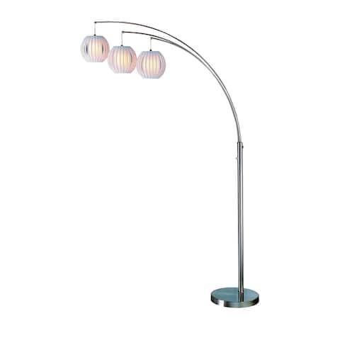 Deion 3 Light Arch Lamp