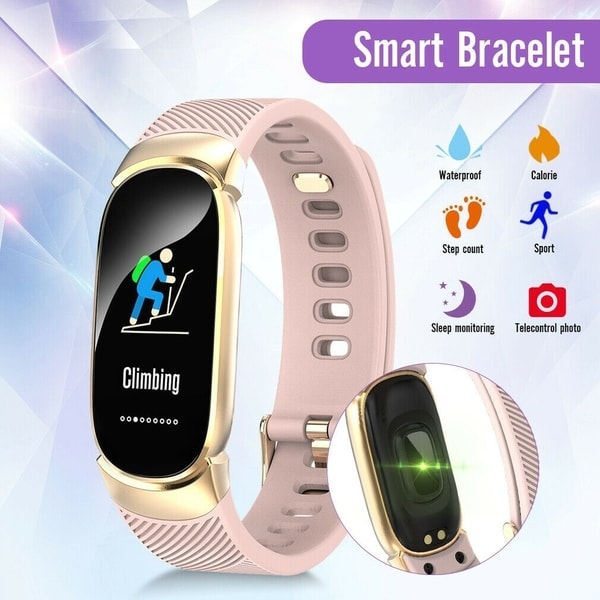QW16 IP67 Smart Watch Bracelet Heart Rate Monitor Blood Pressure Health Fitness Track Sports Sleep Monitoring Watch. Opens flyout.