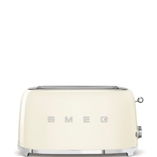 50's Retro Style Aesthetic 4 Slice Toaster Cream