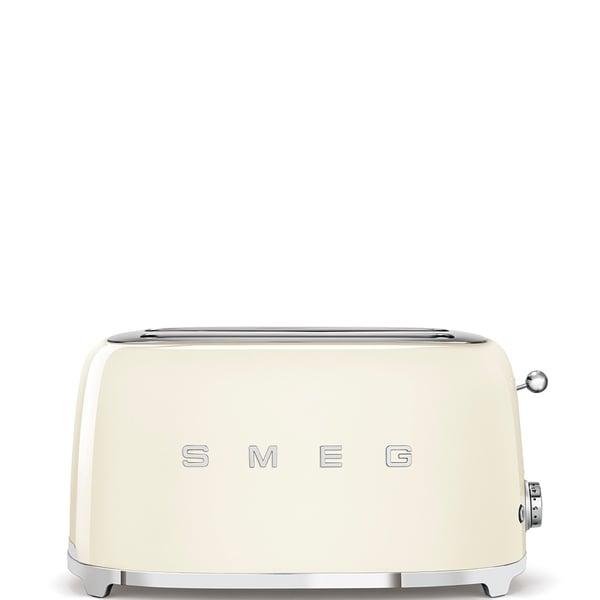 50's Retro Style Aesthetic 4 Slice Toaster Cream