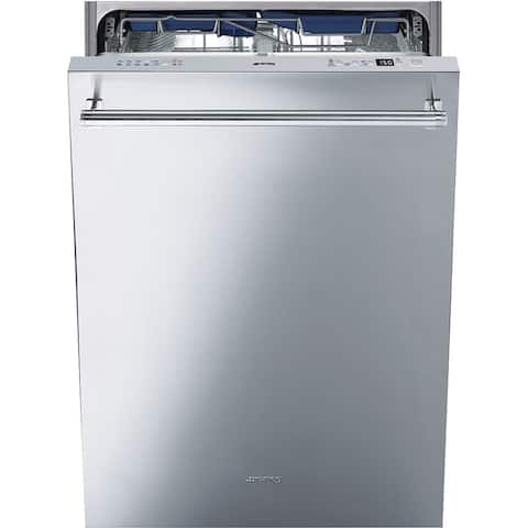 "Smeg Classic Aesthetic Dishwasher 24"" Fingerprint Proof Stainless - N/A"