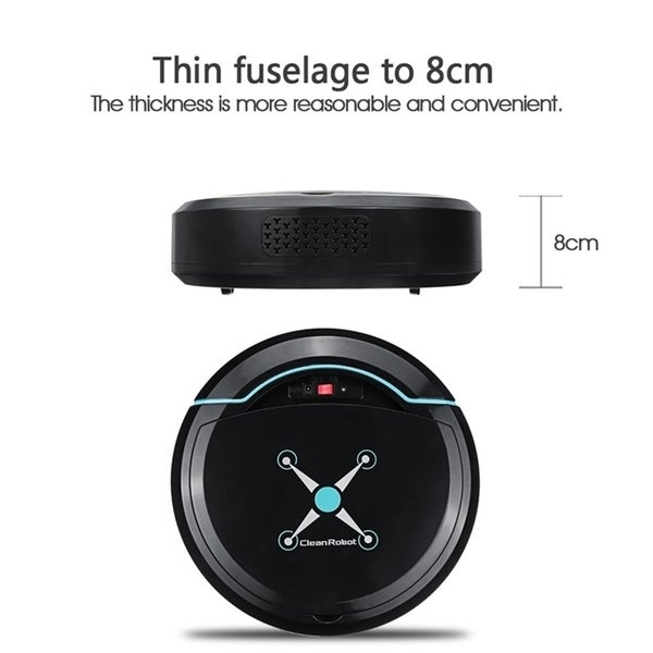 Automatic Intelligent Cleaning Robot Smart Sweeping Robot Vacuum Floor Cleaner Robotic Vacuum Cleaner Dust Sweeper