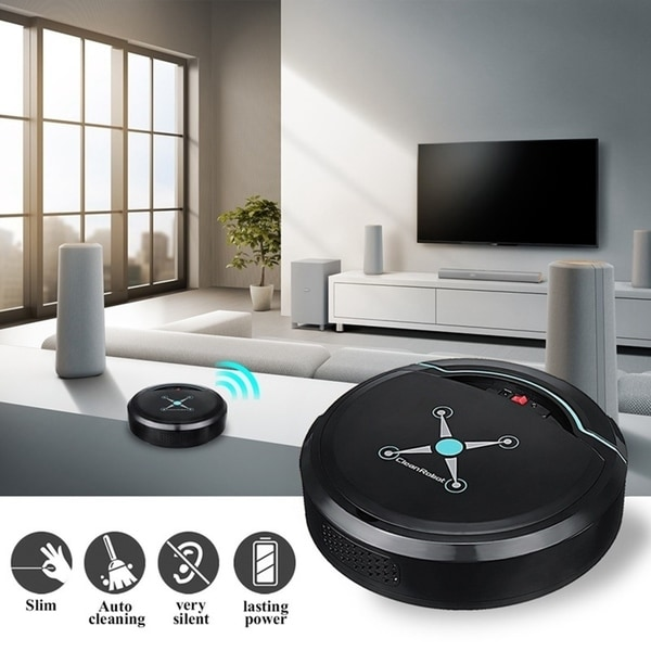 Automatic Intelligent Cleaning Robot Smart Sweeping Robot Vacuum Floor Cleaner Robotic Vacuum Cleaner Dust Sweeper. Opens flyout.