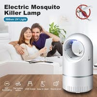 2Pcs Mosquito Killer Light USB Charging LED Electric Bug Zapper Fly Mosquito Killer Insect Bug Trap Lamp Fly Repellent