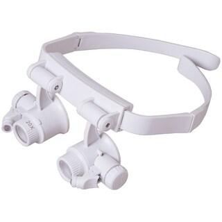 Levenhuk Zeno Vizor G6 Magnifying Glasses - White
