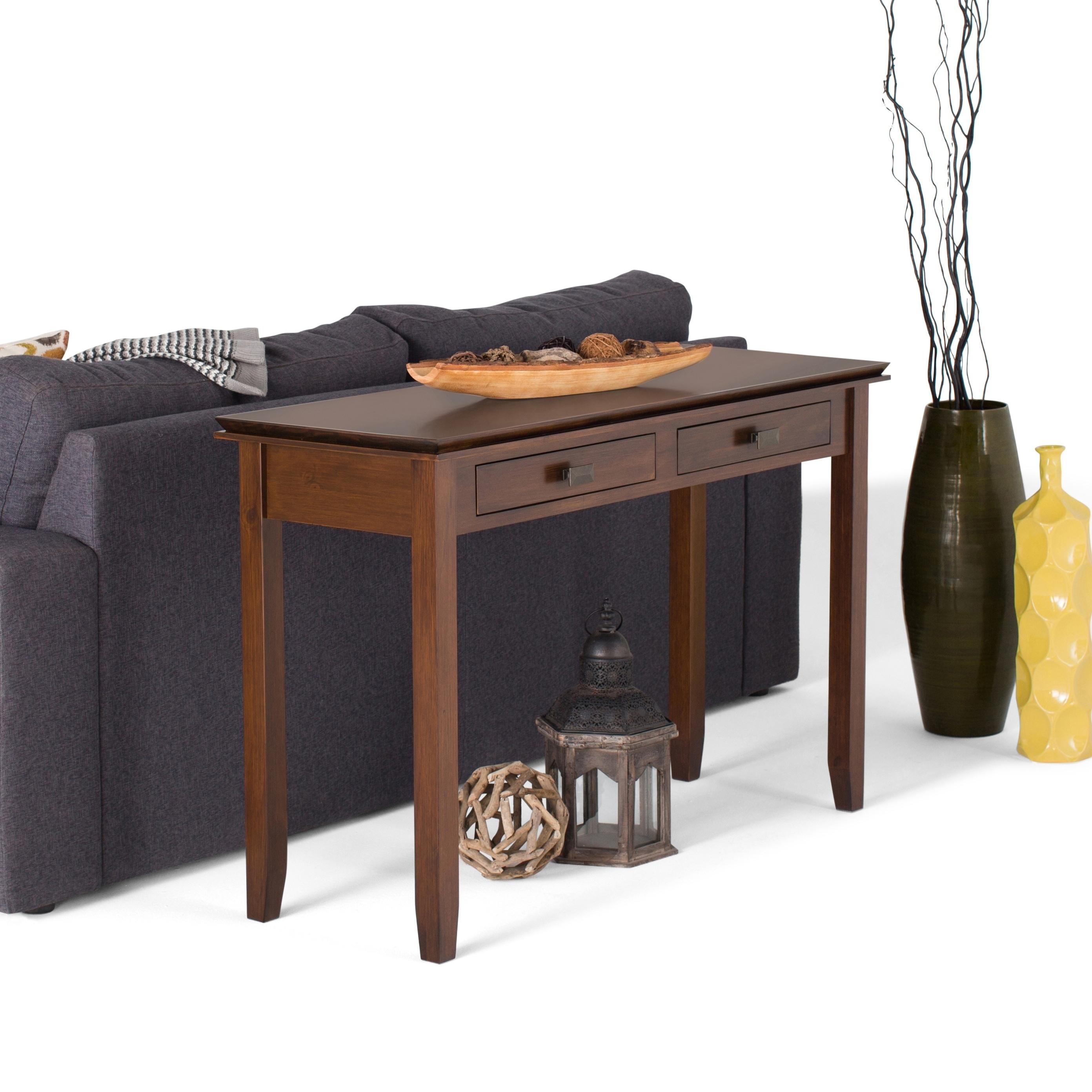 Shop WYNDENHALL Stratford Solid Wood 54 inch Wide Contemporary