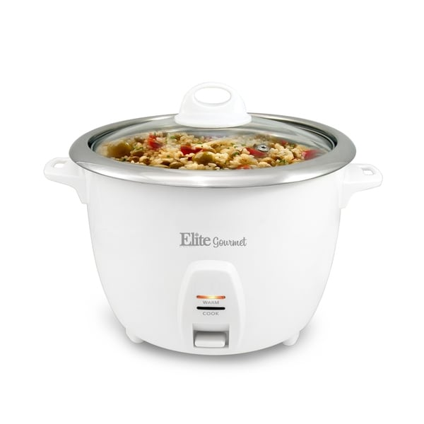 Elite ERC-2020 20-Cup Rice Cooker with Stainless Steel Pot