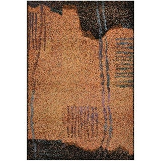 Handmade One-of-a-Kind Modern Abstract Rug (Turkey) - 3'7 x 5'5