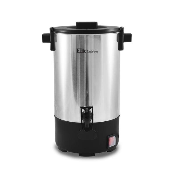 Elite CCM-035 30-Cup Coffee Urn, Stainless Steel