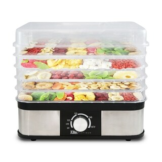 Elite Platinum 5 Tray Stainless Steel Food Dehydrator EFD-1159