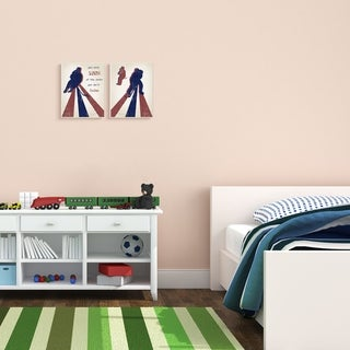 The Kids Room by Stupell Kids Inspirational Word Sports Hockey Design,Proudly Made in USA - 16 x 20