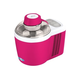 Elite EIM-700BR Thermoelectric Ice Cream Maker, Berry