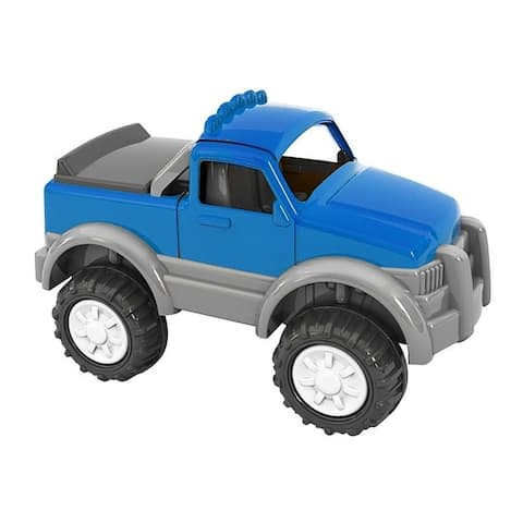 American Plastic Toys Gigantic Pick-Up Truck, Blue 4-Pack