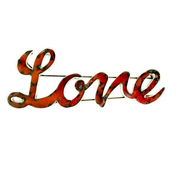 Love Sign W/Frame - N/A