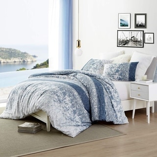 Distracted Blues Oversized Duvet Cover