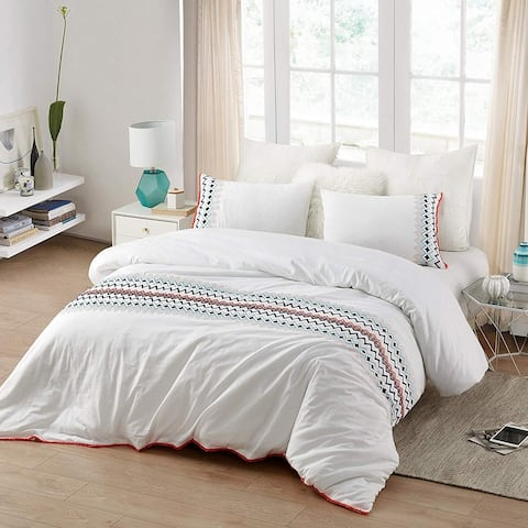 Isla del Sol - Embroidered Oversized Duvet Cover