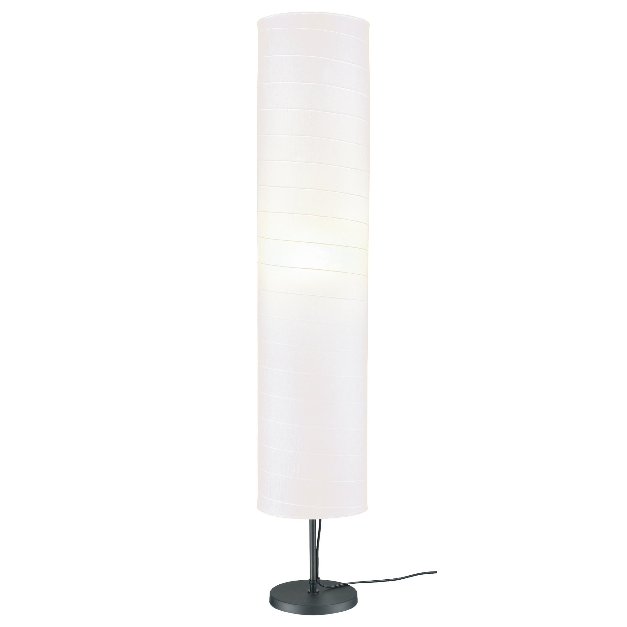Maypex 46 Inches Paper Shade Floor Lamp