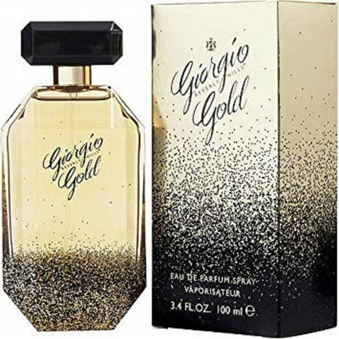 Giorgio Gold by Giorgio Hills Eau De Parfum Spray 3.4 oz
